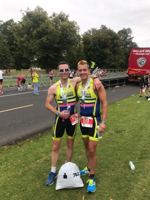 Phil and Graham at Dublin 70.3